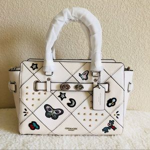 Coach Blake carryall with patchwork